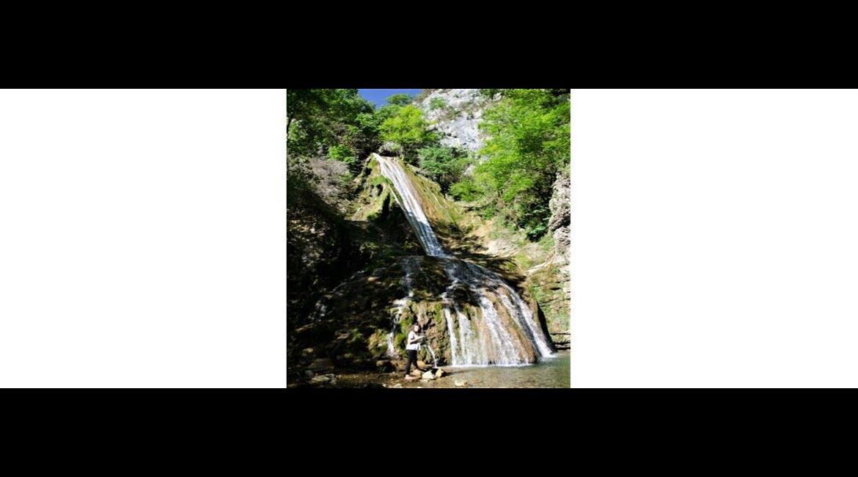 Eboulement sur le secteur des Roches d'Orvaz